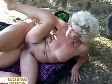 ass blonde glasses granny mammy mature sucking