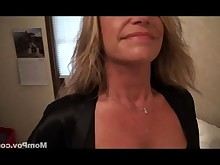 cougar housewife mammy mature milf natural pov slender sucking