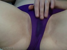 amateur fingering homemade masturbation milf orgasm panties playing pussy