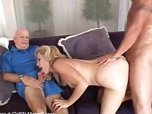 amateur anal ass blonde bus couple cumshot domination facials