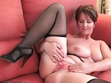 ass big-tits cougar dildo fingering granny mammy masturbation mature