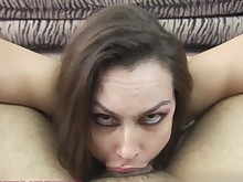 blowjob brunette cumshot deepthroat facials hot lingerie masturbation mature