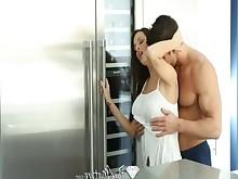 big-cock brunette blowjob milf mature hot hd hardcore cumshot
