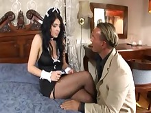 fuck high-heels lingerie milf nylon stocking uniform
