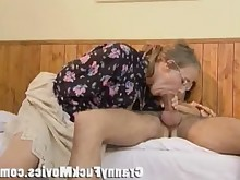 mature mammy blowjob granny