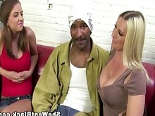 big-tits black blonde car big-cock cougar double-penetration huge-cock interracial