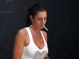 fetish milf smoking