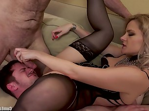 ass babe blonde blowjob big-cock cumshot hardcore hot huge-cock