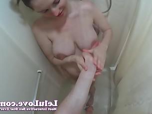amateur ass big-tits brunette cumshot fetish handjob hardcore hd