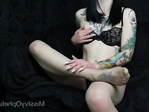 brunette cumshot fetish innocent lingerie mammy milf nylon stocking