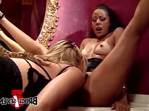 anal ass bdsm big-tits blonde boobs dildo double-penetration fetish