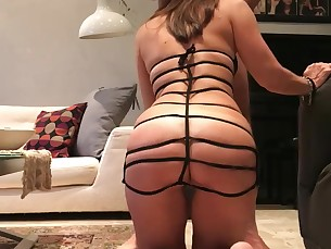 amateur brunette fetish hot juicy lingerie milf pov slave