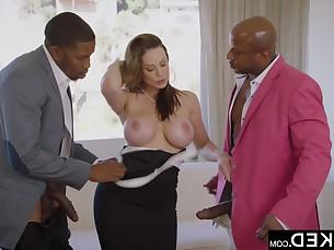 ass big-tits black brunette big-cock cougar doggy-style facials fuck