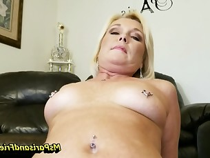 blonde blowjob close-up creampie hardcore mammy milf nipples playing