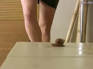 brunette feet fetish high-heels mature