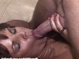 blowjob brunette big-cock cumshot facials foot-fetish hot mammy mature