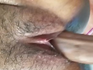amateur ass black boyfriend brunette big-cock creampie cumshot ebony