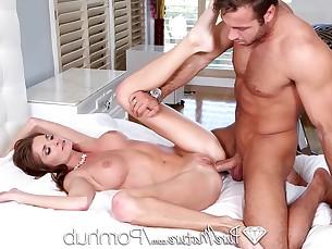 anal ass big-tits blowjob brunette big-cock cumshot fuck hardcore