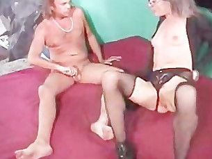 anal ass blowjob couple doggy-style glasses granny hardcore licking