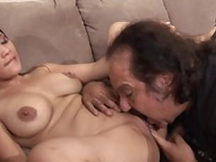 big-tits blowjob brunette cumshot doggy-style fingering fuck hot interracial