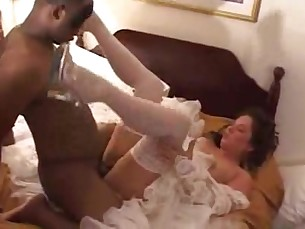 amateur blowjob big-cock creampie cumshot deepthroat doggy-style high-heels homemade