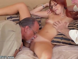doggy-style friends innocent little mammy old-and-young redhead shaved slender