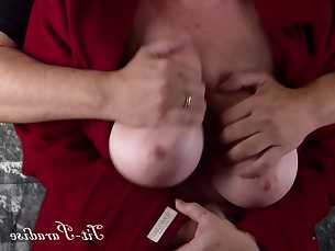 amateur babe big-tits boobs brunette crazy fetish grope hd