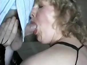 babe blowjob bukkake cumshot mammy mature