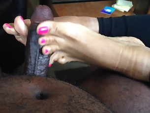 amateur black ebony feet fetish foot-fetish footjob mammy milf