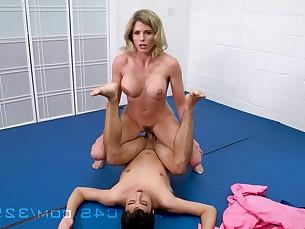 big-tits blonde boobs cumshot fetish fuck hardcore hot mammy