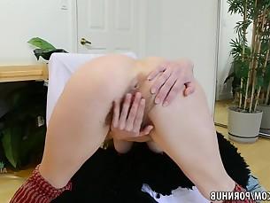 blonde fingering hairy kitty masturbation milf moan pussy