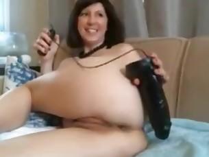 amateur anal ass babe big-tits dildo fuck mammy masturbation
