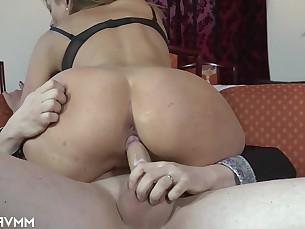 big-tits blonde fingering high-heels homemade kitty licking lingerie masturbation