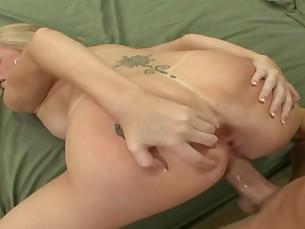 big-tits blonde blowjob boobs big-cock cumshot doggy-style fuck hd