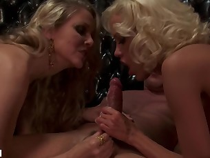 big-tits blonde blowjob boobs brunette big-cock doggy-style dolly fuck