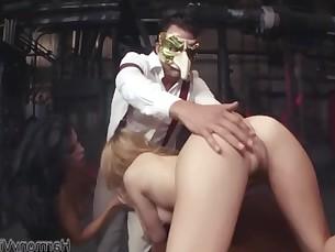 big-tits blowjob boobs brunette big-cock deepthroat doggy-style hardcore licking
