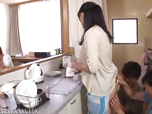 anal ass cougar fuck hot japanese kitchen mammy milf