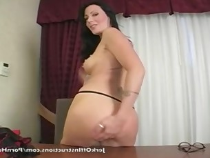 brunette big-cock jerking kiss mammy masturbation mature milf pornstar