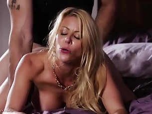 babe big-tits blonde blowjob boobs brunette big-cock cumshot doggy-style