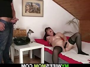 big-cock cumshot granny mammy mature milf wife