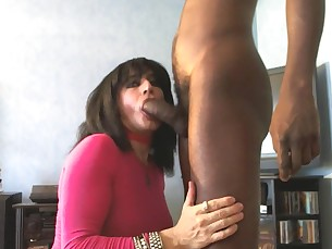 black blowjob big-cock cougar huge-cock mammy milf