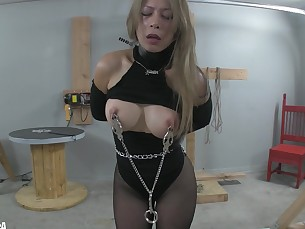 ass bdsm blonde curvy fetish hardcore high-heels milf playing