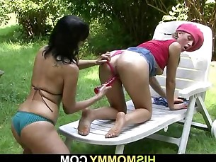 bus busty friends girlfriend lesbian mammy mature milf old-and-young