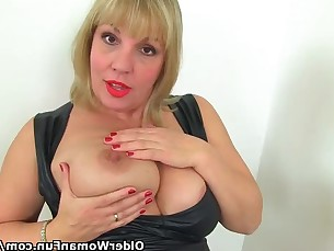 bathroom big-tits mammy masturbation mature milf