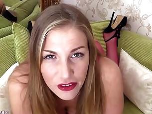 big-tits boobs brunette milf pov