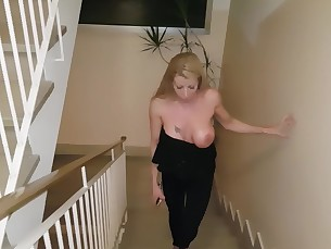 babe big-tits blonde blowjob boobs cumshot hot mammy milf