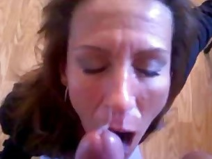 amateur blowjob big-cock facials homemade huge-cock milf really sucking